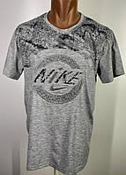 Нова футболка з витісненням надпису nike новинка 2xl 3xl