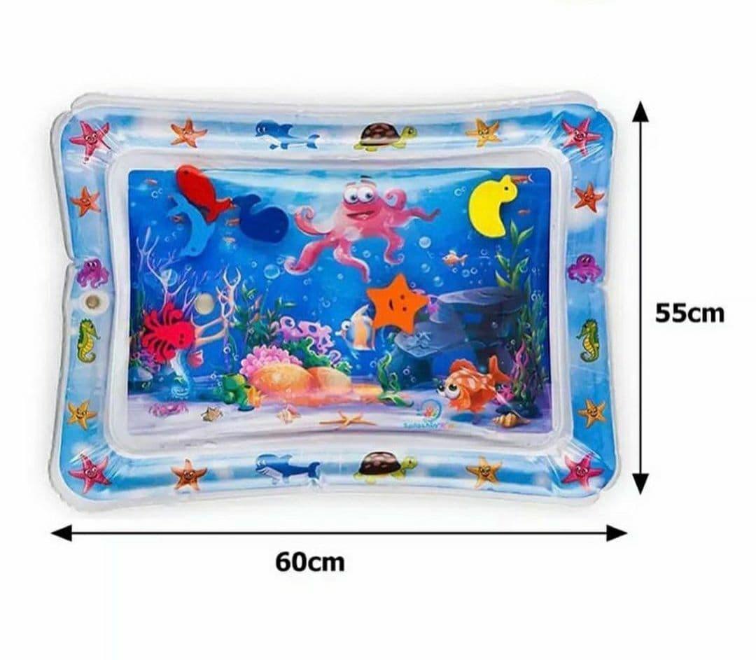 Водний килимок F-2010 розвиваючий акваковрик Восьминіг