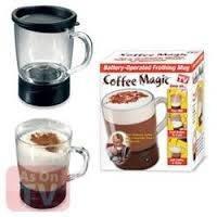 Саморазмешивающая чашка для приготовления кофе Coffee Magic (чашка Кофе Меджик), кружка-мешалка, фото 1