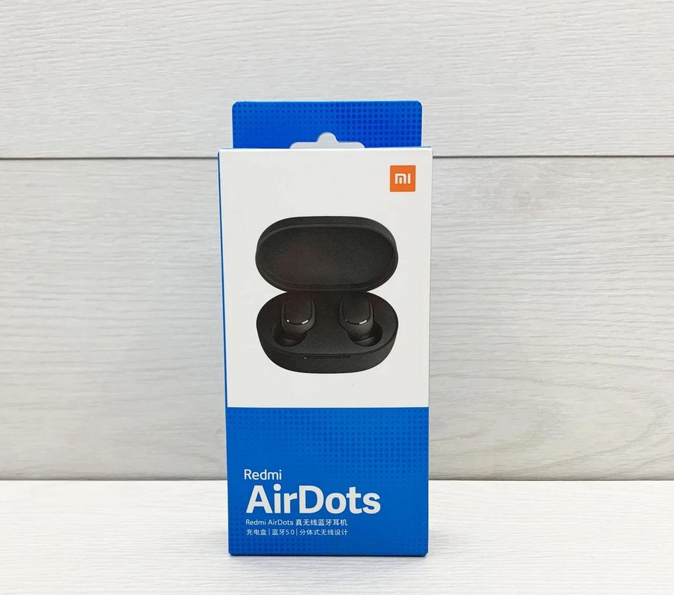 Беспроводные наушники Xiaomi Redmi AirDots, Bluetooth гарнитура Mi, Вакуумные наушники
