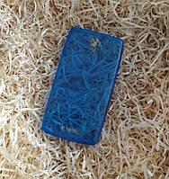 Чехол силиконовый плотный для Lenovo A5000,Синий