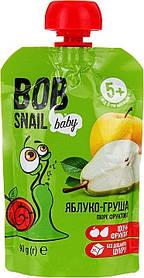 """Пюре фруктовое """"Яблоко-груша"""" для детей, 90 г  Bob Snail, с 5 мес"""