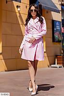 Красиве ділове жіноче вбрання-піджак на гудзиках з довгим рукавом р-ри 42-48 арт. 479