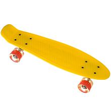 Пені Борд дитячий з такими колесами. Скейт жовтий Penny Board