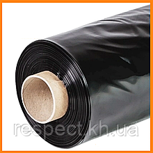 Плівка 100 мкм чорна 3*100 м для мульчування та будівництва