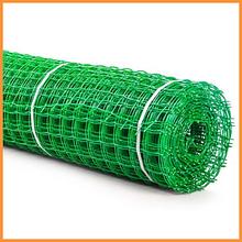 Сітка 50*50 пластмасова 1.0х20 м (зелена) квадрат