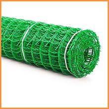 Сітка 95*85 пластмасова 1.0х20 м (зелена) квадрат