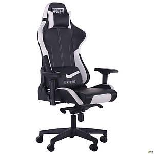 Кресло VR Racer Expert Mentor черный/белый TM AMF