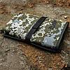 Несесер армійський зі змійкою,10 отд., військовий несесер-сумка, похідний дорожній органайзер розкладний, Піксель, фото 4