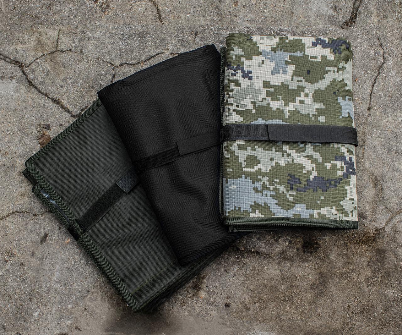 Несессер ВСУ (ЗСУ) на змейке 10 отд, армейский военный несессор-сумка, походный органайзер раскладной несесор