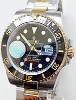 Годинник Rolex Submariner біколор.механіка.клас ААА, фото 1