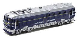 Поезд игрушечный, синий (G1717-2), BIG MOTORS