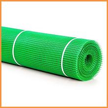 Сітка 10*10 пластмасова 1.0х20 м (зелена) квадрат