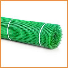 Сітка 20*20 пластмасова 1.5х20 м (зелена) квадрат
