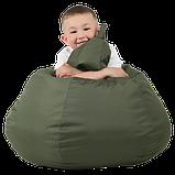 Крісло-груша Хакі Дитяча 60х90, фото 3