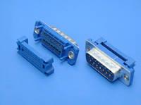 DI-15M (D-SUB вилка на шлейф)(DSF15LC)
