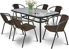 Набор садовой мебели PATIO стол + 6 стульев Польша