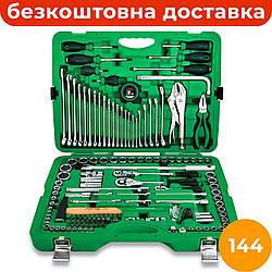 Комбинированный набор инструментов 144 ед. TOPTUL GCAI144R, профессиональный набор ключей и головок для авто