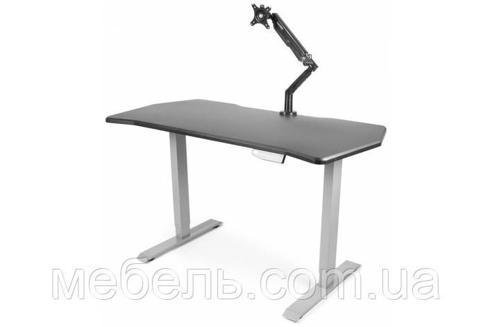 Регульований стіл Barsky StandUp Memory electric 1 motor black 1350*670 BSU_el-02, фото 2