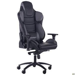 Кресло VR Racer Expert Hero черный/серый TM AMF