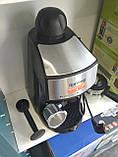 Кофеварка рожковая Espresso Rainberg RB-8111 с капучинатором, фото 4