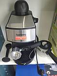 Кофеварка рожковая Espresso Rainberg RB-8111 с капучинатором, фото 3