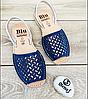 Шикарные сандалии, абаркасы из перфорированной замши, оригинал Испания, фото 7