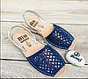 Шикарные сандалии, абаркасы из перфорированной замши, оригинал Испания, фото 8