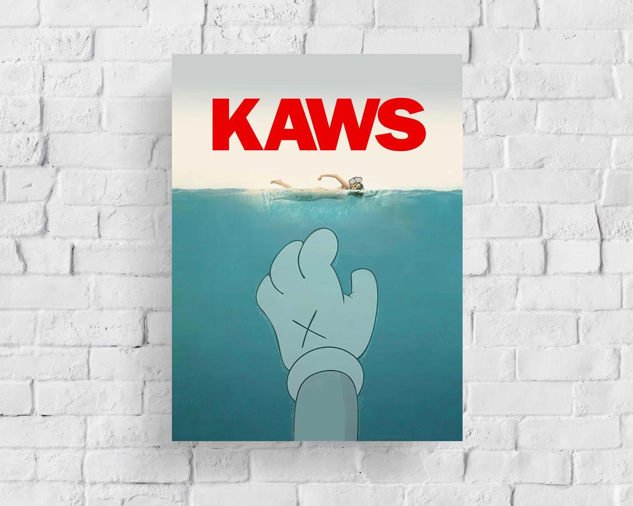 Плакат KAWS Ocean формат А3