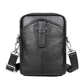Мужская кожаная сумка мессенджер JD1052A