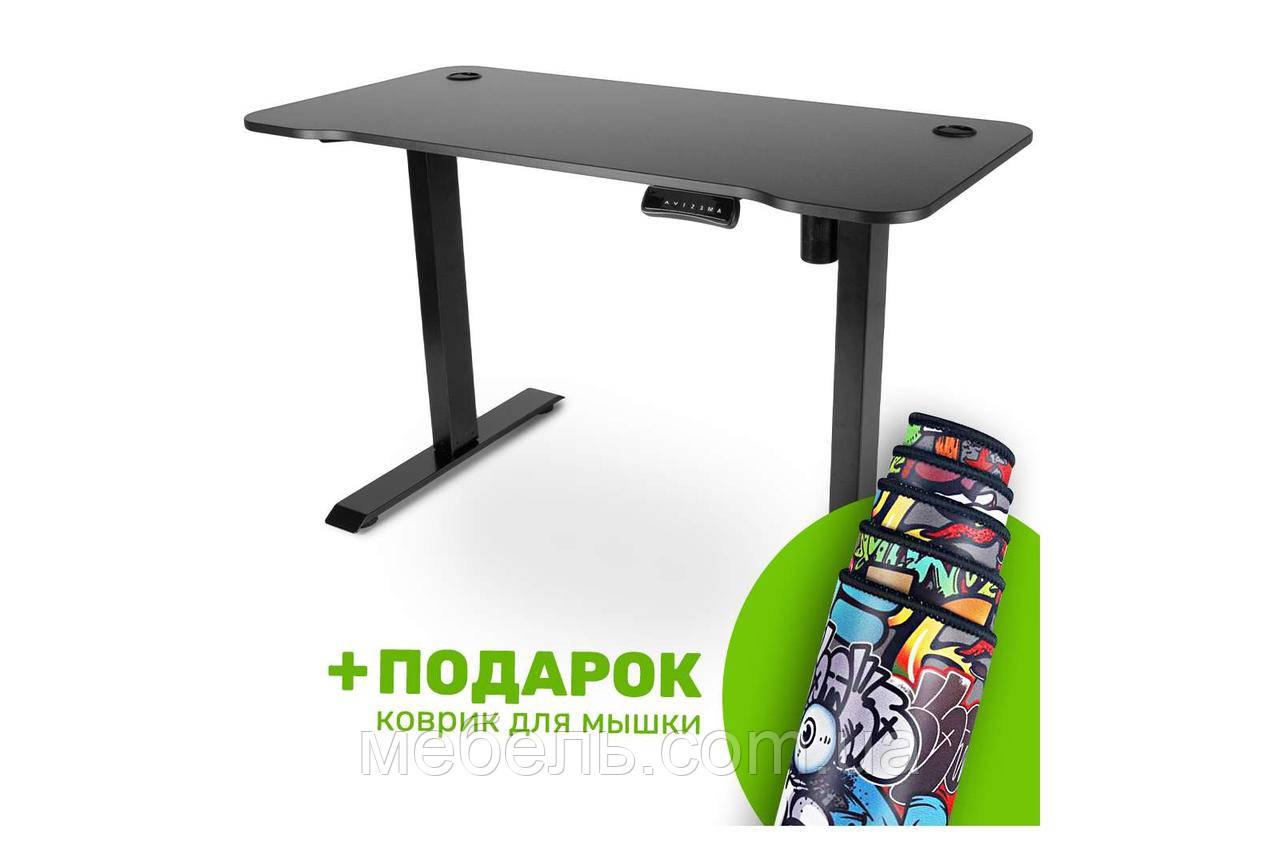 Компьютерный стол с подъемным механизмом Barsky BSU_el-09 StandUp Memory electric black