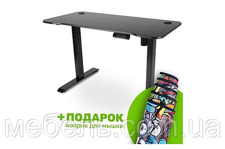 Компьютерный стол с подъемным механизмом Barsky BSU_el-09 StandUp Memory electric black, фото 2