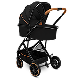 Универсальная коляска 3 в 1 Lionelo RIYA BLACK ONYX, фото 5