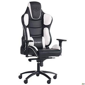 Кресло VR Racer Expert Idol черный/белый TM AMF