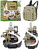 Игровой рюкзак для мальчиков Military Base Special Forces. Детский игровой набор Военная база