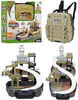 Ігровий рюкзак для хлопчиків Military Base Special Forces. Дитячий ігровий набір Військова база