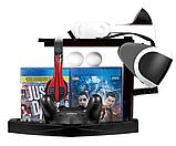 Док-станція тримач дисків KJH для PS VR / Dualshock 4 / PS Move, фото 5