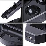 Док-станція тримач дисків KJH для PS VR / Dualshock 4 / PS Move, фото 6