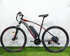 Электровелосипед Azimut Nevada 29  li ion 15A 48V 750W  2021  Original Черно-зеленый