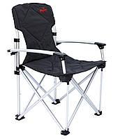 Крісло розкладне Tramp з ущільненої спинкою і твердими підлокітниками 004