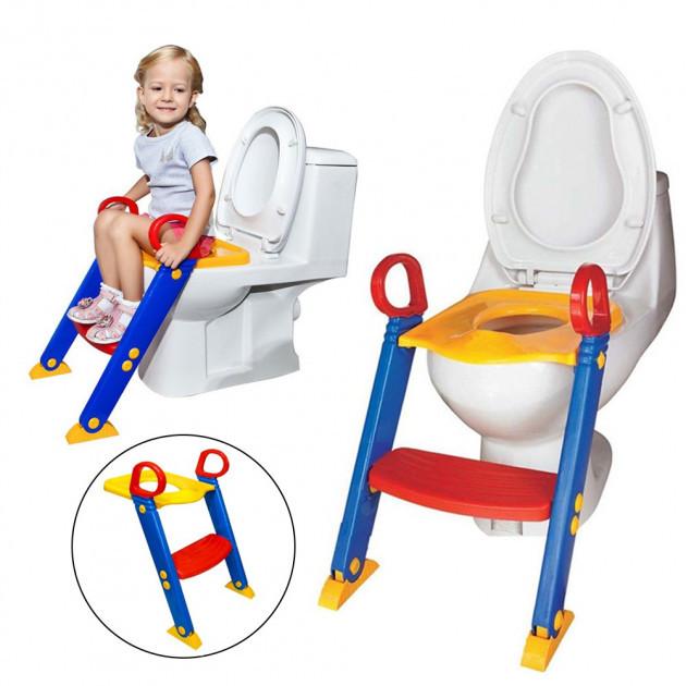 Дитяче сидіння на унітаз зі сходинкою і ручками Keter Toilet Trainer