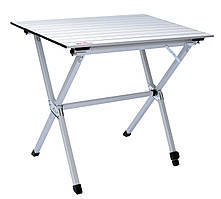 Складаний стіл з алюмінієвої стільницею Tramp Roll-80 (80x60x70 см) TRF-063
