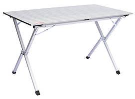 Складаний стіл з алюмінієвої стільницею Tramp Roll-120 (120x60x70 см) TRF-064
