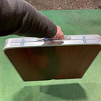 Столик для пикника складной стол-чемодан + 4 стула