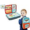 Детский набор для рисования 3в1 Backpack Packing, Синий