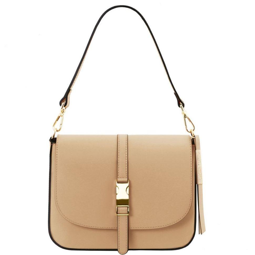 Tuscany TL141598 Nausica - Кожаная женская сумка (Шампань)