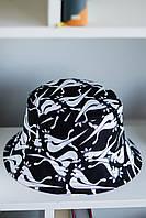 Панама річна унісекс двостороння з принтом. Жіноча / чоловіча капелюх з модним принтом., фото 1