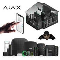 Охранная сигнализация Ajax (системы охранной сигнализации Аякс)
