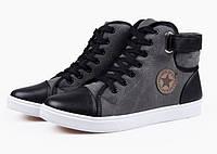 Чоловічі зимові черевики-кеди Converse. Модель 04103., фото 2