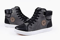 Чоловічі зимові черевики-кеди Converse. Модель 04103., фото 3